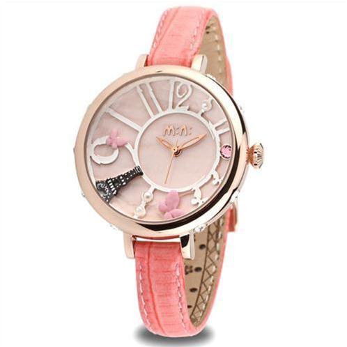 Đồng hồ nữ Mini MN991 tháp Eiffel thiết kế ấn tượng