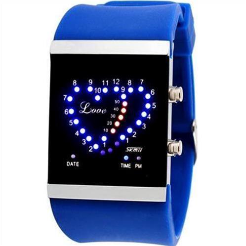 Đồng hồ Led Skmei SK – 0984 màn hình trái tim