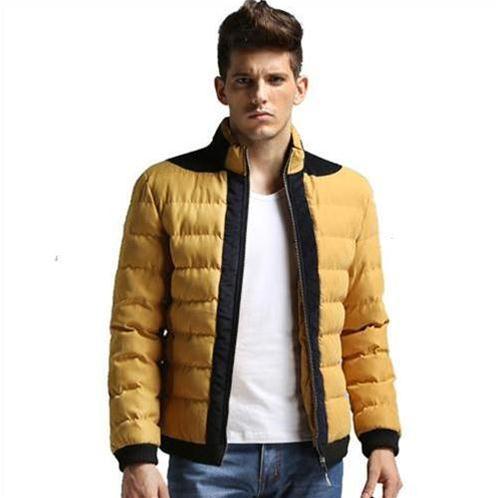 Áo khoác phao nam màu vàng No1Dara