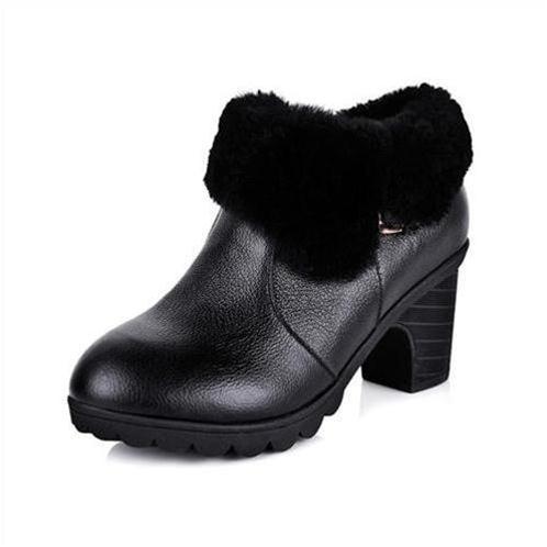 Giầy bốt nữ thời trang YiYa YY1598 dòng ankle boots