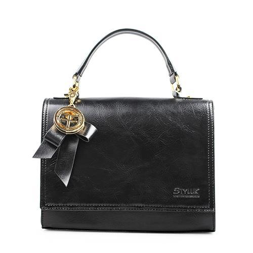 Túi xách nữ hộp nơ tinh tế Styluk LQQ031