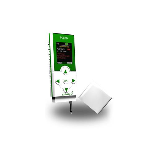 Máy đo bức xạ phóng xạ và Nitrat Ecotester Soeks hai trong một (Phiên bản mới)