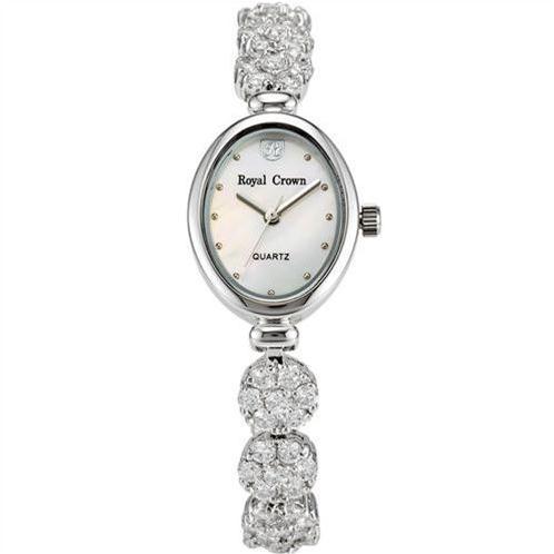 Đồng hồ lắc tay nữ Royal Crown 2506 mặt Oval