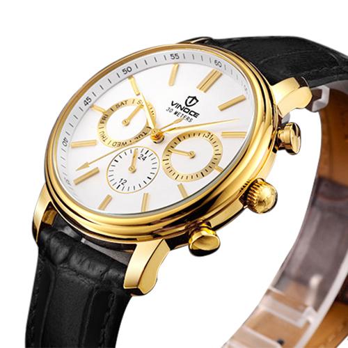 Đồng hồ 6 kim nam Vinoce