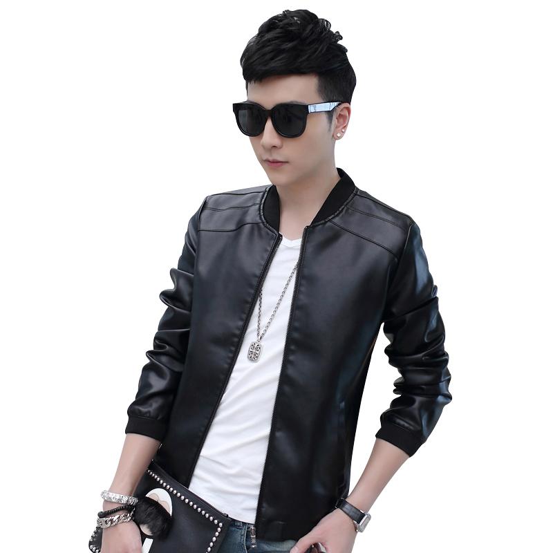 Jacket nam da bóng phong cách Hàn Quốc NGF