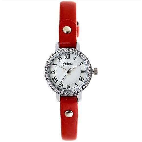 Đồng hồ nữ pha lê Hàn Quốc Julius JA-667