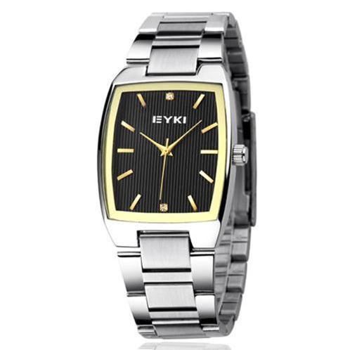 Đồng hồ nam EYKI EET8595AG mặt vuông cá tính