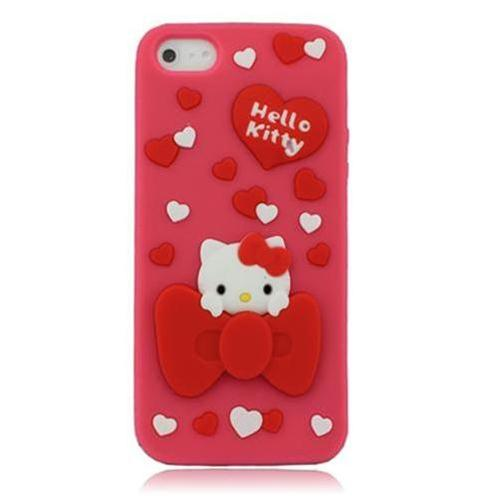 Vỏ Iphone 5 Hello Kitty (Hồng (N2))-IP00235-2