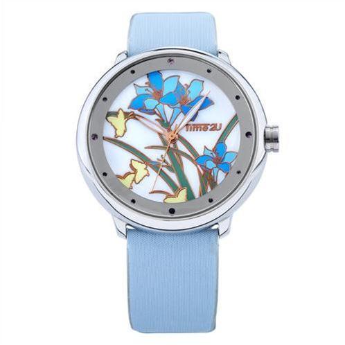 Đồng hồ nữ Time2U 91-18395 hoa lan cao quý