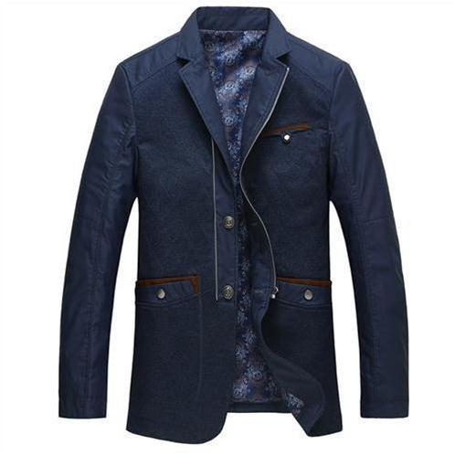 Jacket nam giả vest cao cấp Nleidun