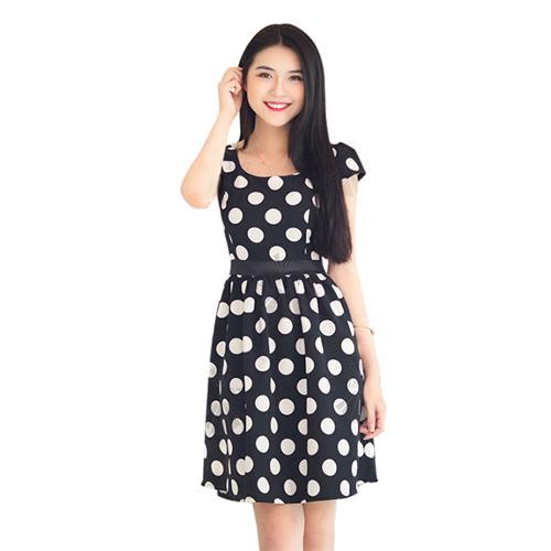 Váy bi Estella  - Đai ngang eo tôn lên vòng hai cuốn hút