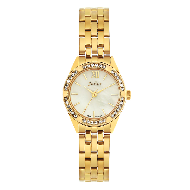 Đồng hồ nữ Hàn Quốc Julius Golden Design