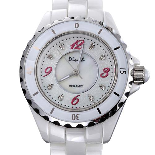 Đồng hồ nữ dây gốm Pinch L06-P05 tinh tế