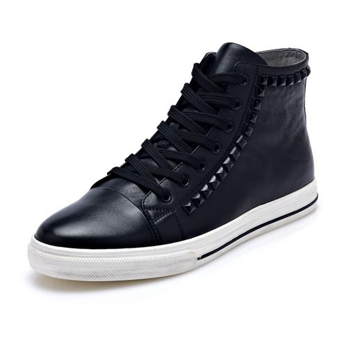 Giày da nam cổ cao CDD 8027 giày cao cổ thời trang