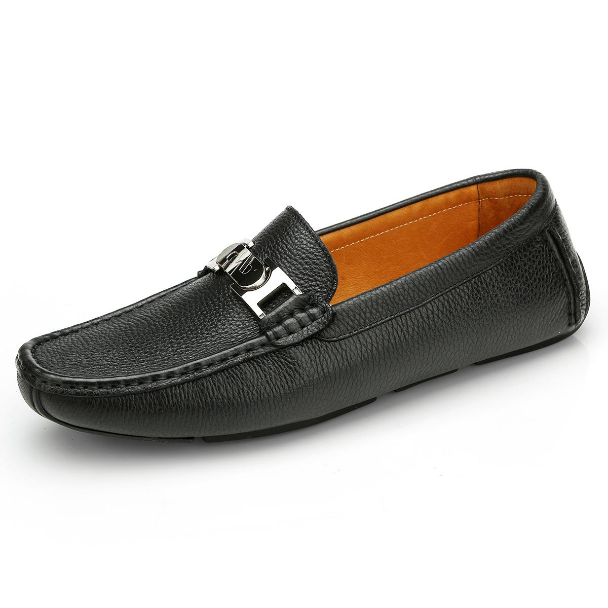 Giày lười chữ hợp kim Olunpo