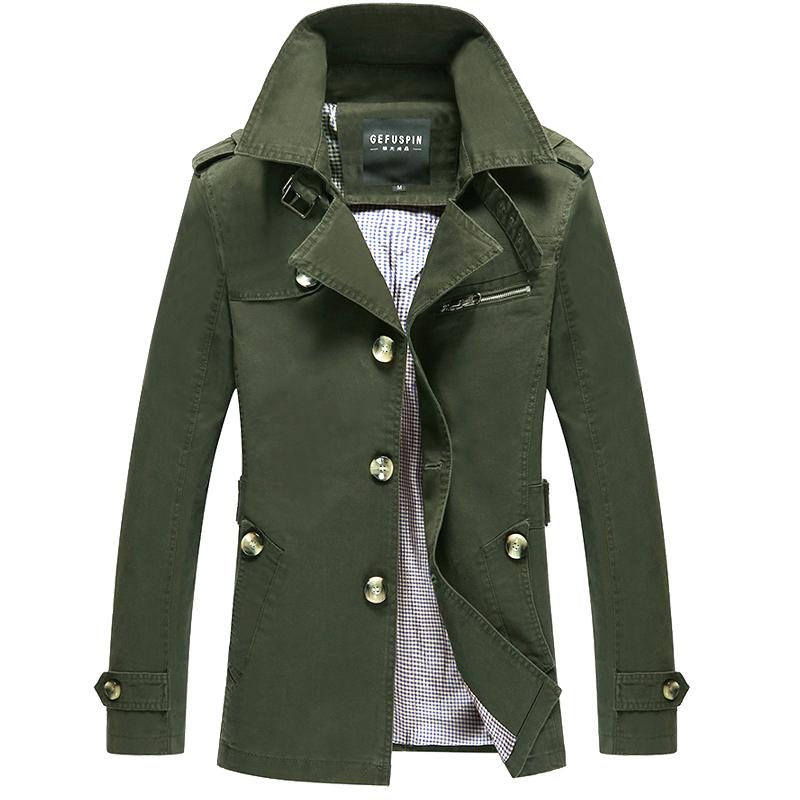 Áo Trench coat nam GF phong cách Hàn Quốc