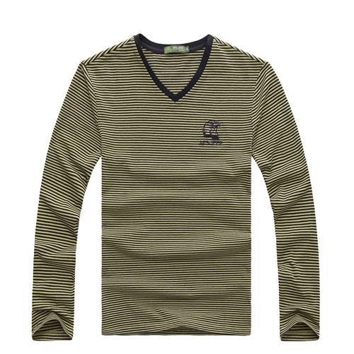 Áo T-shirt nam dài tay cổ tim AFS JEEP