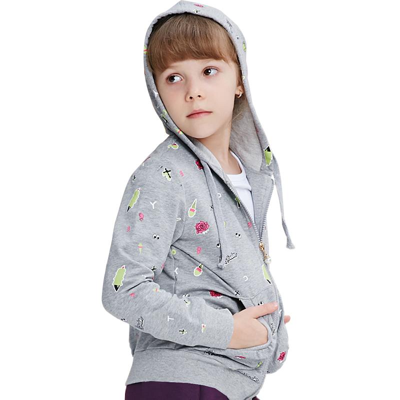Áo Hoodie bé gái MYL họa tiết hoạt hình