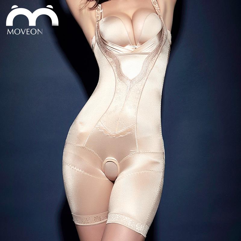 Áo định hình liền thân viền ren nữ Moveon