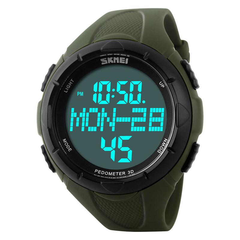 Đồng hồ thể thao đếm bước chân nam Skmei 1122