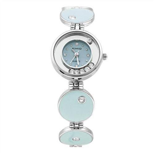 Đồng hồ lắc tay Kimio K32091L đính đá cao cấp