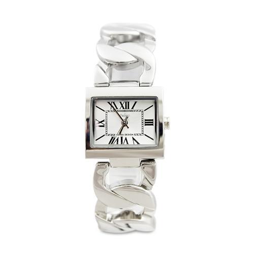 Đồng hồ nữ mặt vuông khóa luồn Julius Korea JA-615