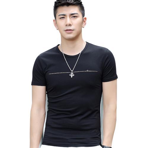 Áo T-Shirt nam ngắn tay Sinhillze họa tiết chữ cái