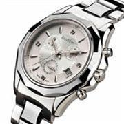 Đồng hồ cao cấp Bestdon Phong Cách Mạnh Mẽ  (Mặt trắng dây trắng (N1))