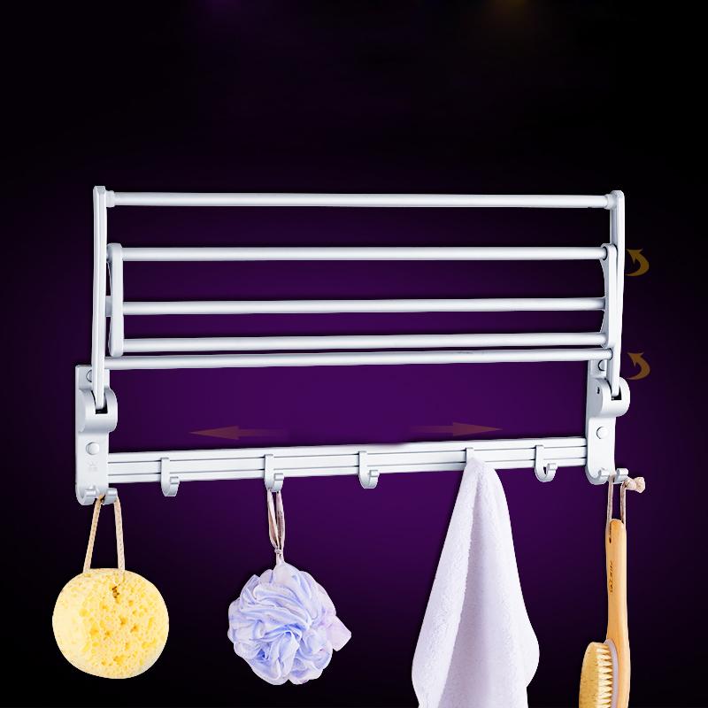 Bộ đồ dùng nhà tắm Longqin 3 món bao gồm: Giá treo khăn tắm, Giá hai thanh treo, Giá tam giác hoa văn