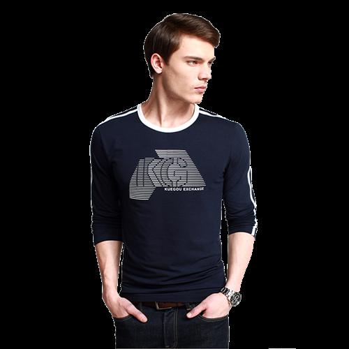 Áo thun nam dài tay thời trang K-Jeans PT-681