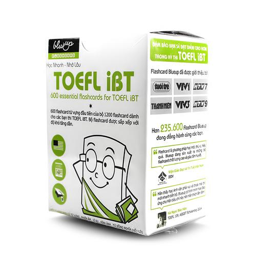 Trọn bộ 06 tập Flashcard Blueup TOEFL iBT tập 1 (Tái bản 2014)