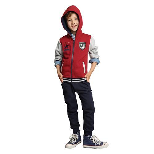 Bộ hoodie dáng bóng chày cho bé trai Tiger Mini