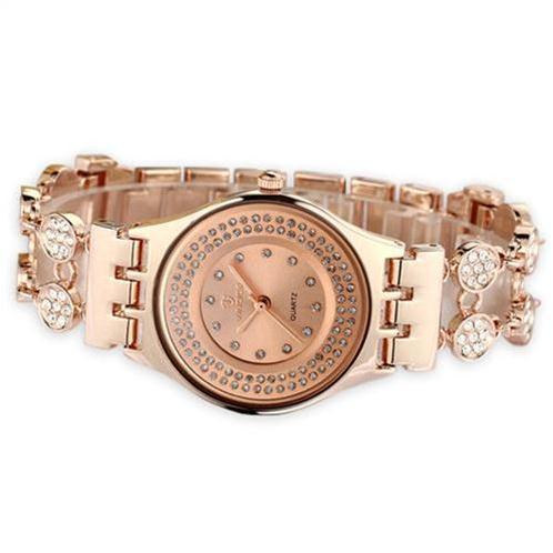 Đồng hồ hiệu nữ Vinoce 6353 kiểu lắc tay thời trang siêu mỏng