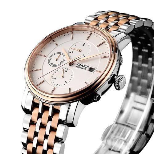 Đồng hồ nam sáu kim Vinoce 633230G tinh xảo