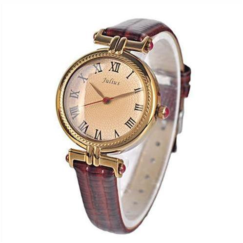Đồng hồ nữ Julius JA623 số La Mã cổ điển