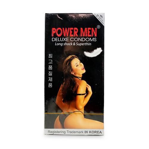 Bao cao su Power Men Long Shock and Super Thin