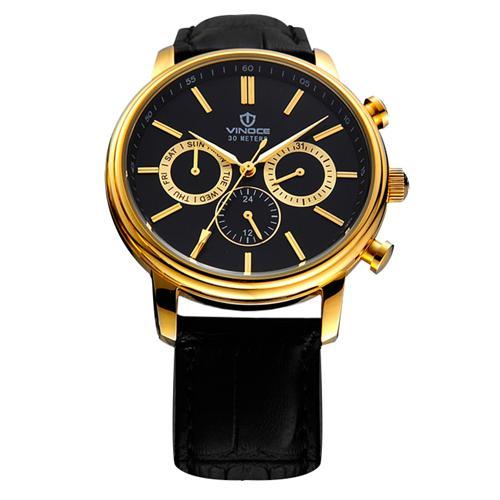 Đồng hồ nam đa chức năng Vinoce 8371G máy Miyota