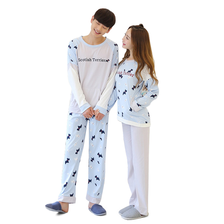 Bộ đồ ngủ cặp đôi cún yêu Suzle