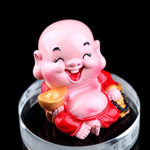 Nước hoa ô tô tượng Phật Di Lặc Kanoch