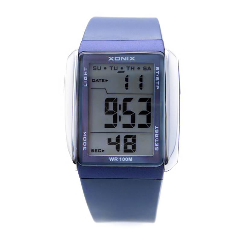 Đồng hồ thể thao XONIX FJ mặt chữ nhật cá tính