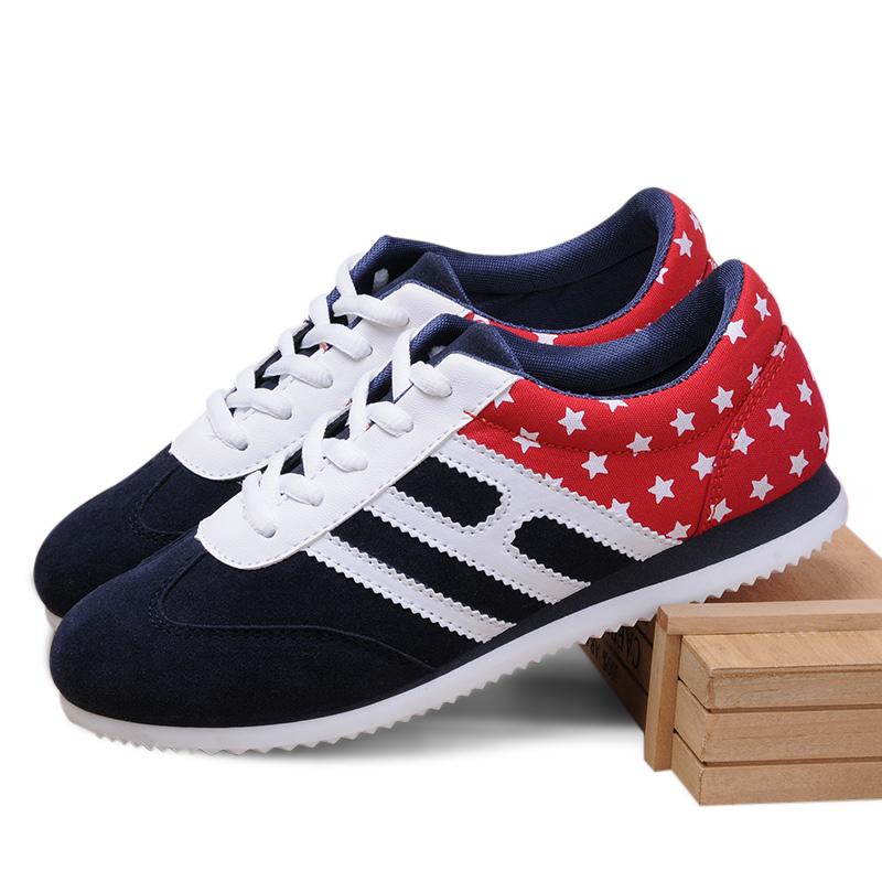 Giày thể thao nữ Wadnaso họa tiết Quốc kỳ