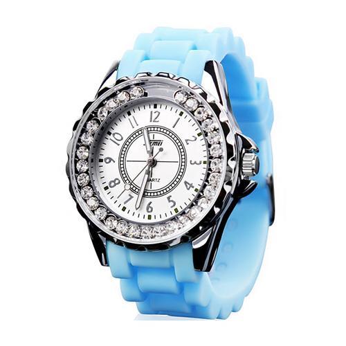 Đồng hồ thời trang đính cườm nữ Skmei 0991