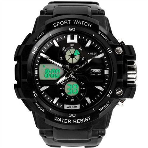 Đồng hồ điện tử Skmei 0990 màn hình hiển thị kép