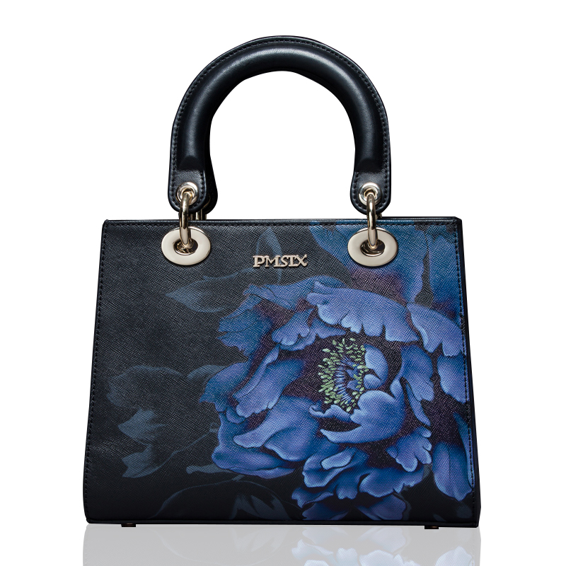 Túi satchel hoa phù dung PMSIX