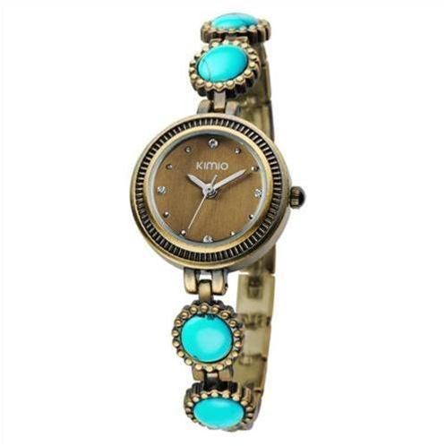 Đồng hồ nữ Kimio Aquamarine
