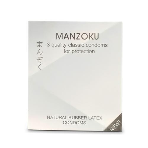 Combo 5 hộp bao cao su Manzoku