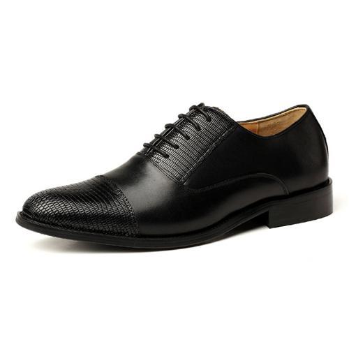 Giày da nam VANGOSEDUN VG6008 đế thấp