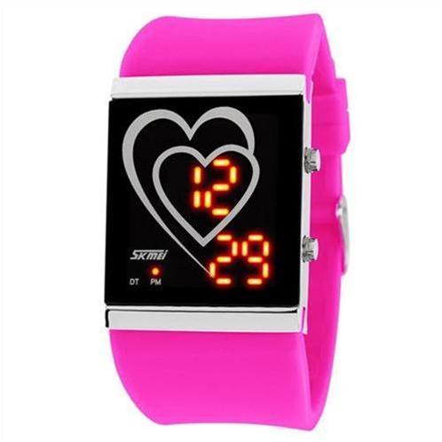 Đồng hồ nữ LED SKmei 1004 dòng đồng hồ điện tử