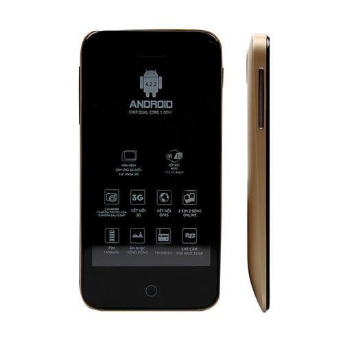 Smartphone Masstel M390 (tặng kèm sim Viettel)