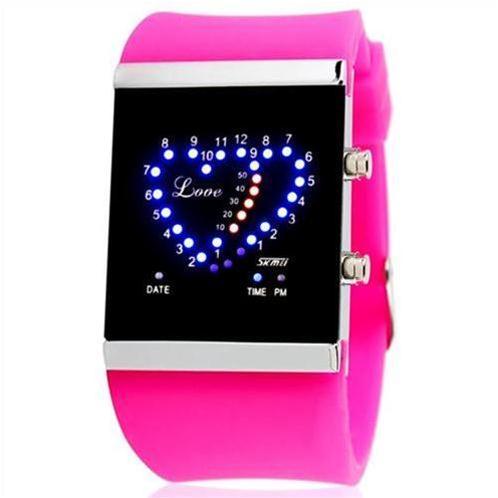 Đồng hồ điện tử Skmei SK – 0984 trái tim